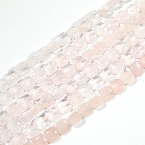 Rose Quartz 12mm Square