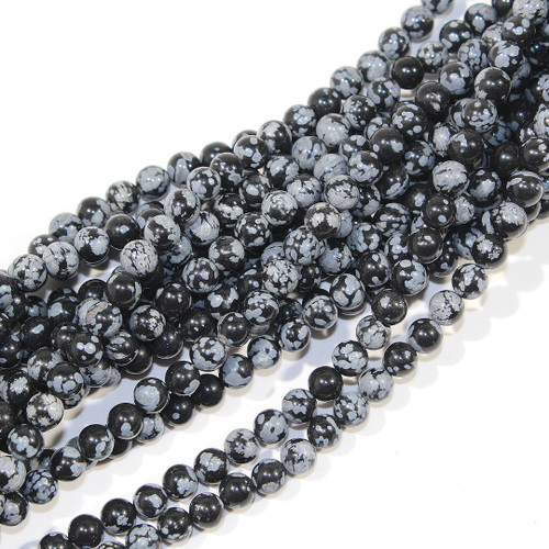 6mm Snowflake Obsidian Rounds