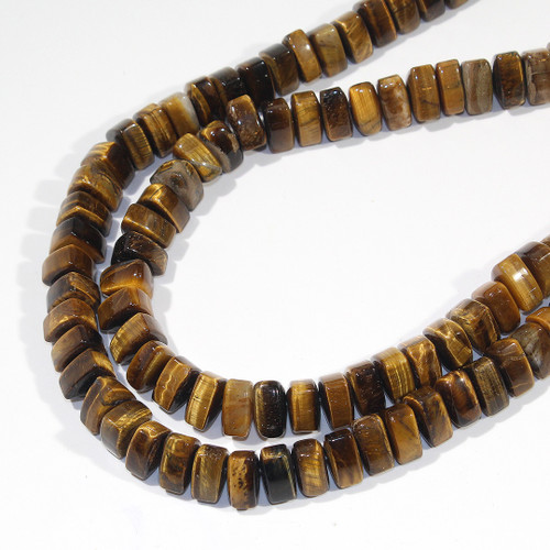 Tiger Eye Stacked Triangle
