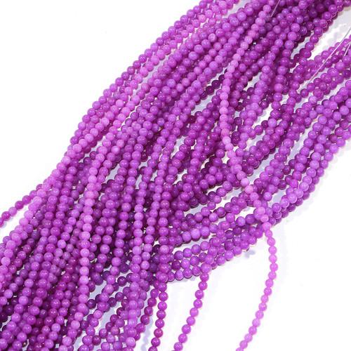4mm Purple Dyed Aventurine
