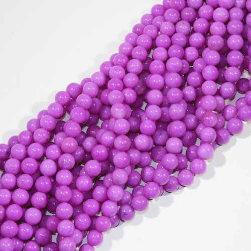 10mm Purple Dyed Aventurine