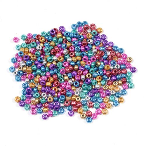 #6 Seed Bead Metallic Shimmer Mix  Half Kilo Bag