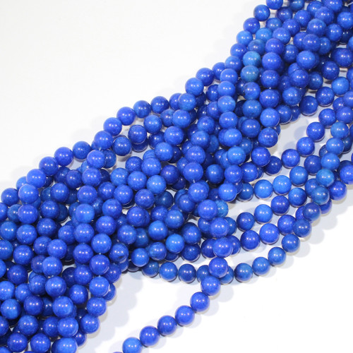 10mm Dyed Blue Aventurine Rounds