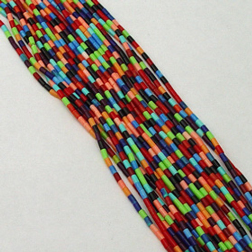 Mix Color Block Heishi 2-3mm | $4.30 Wholesale