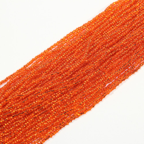 #11 Seed Bead Silver Lined Orange