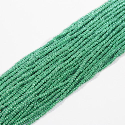 #11 Metallic Green Seed Bead