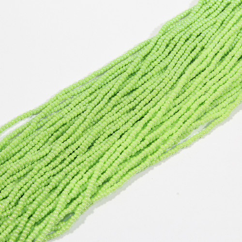 #11 Metallic Lime Green Seed Bead