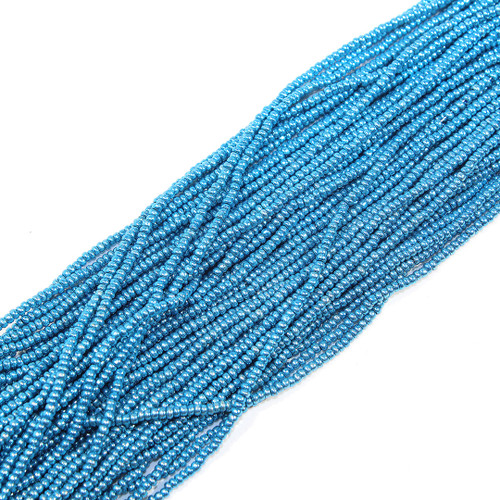 #11 Bright Blue Metallic Seed Bead