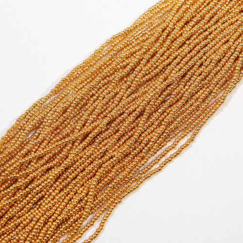 #11 Gold Metallic Seed Beads