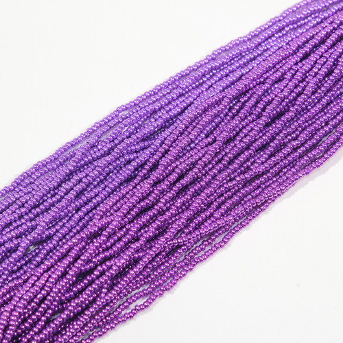 #11 Metallic Purple Seed Beads