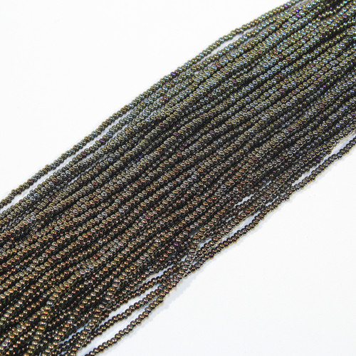 #11 Metallic Peacock Copper Seed Beads