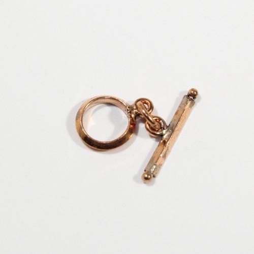 11mm Copper Toggle | 6ct Bag