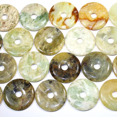 Flower Jade Pendants