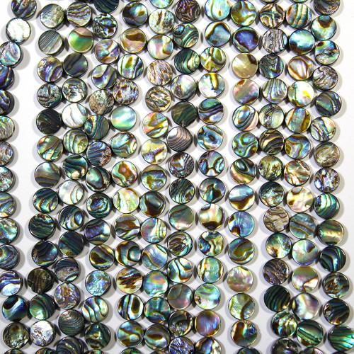 Abalone Shell beads 8mm