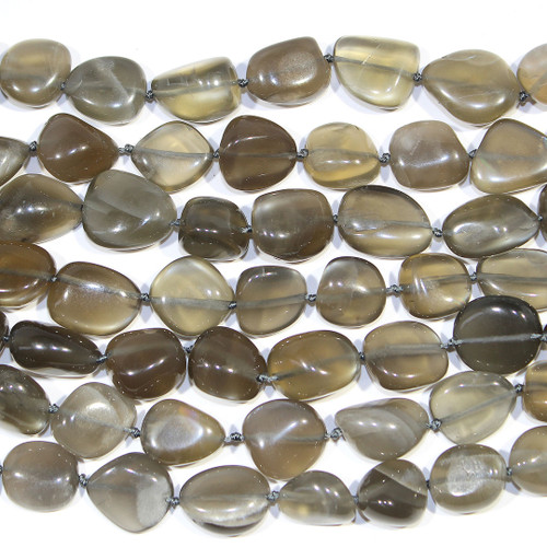 Silver Moonstone Nuggets