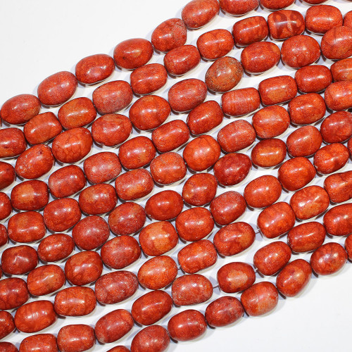 Red Sponge Coral | Barrel 15-16mm | Wholesale $12