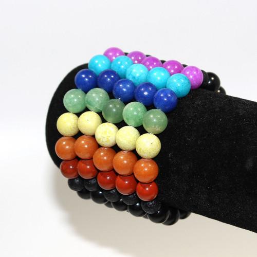 7 Chakra Diffuser Bracelet