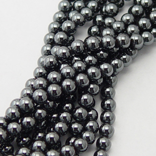 Hematite Round Beads 6mm