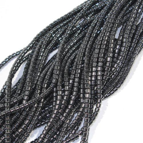 Hematite Drum beads 3mm