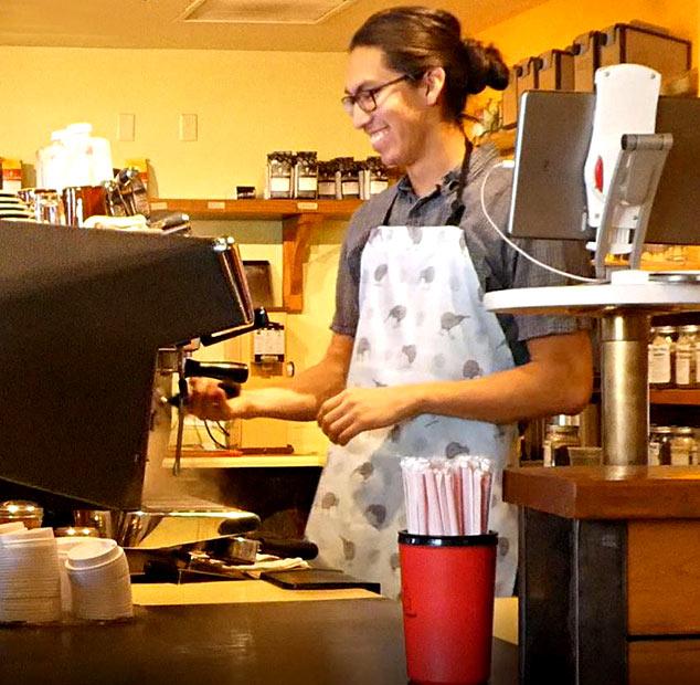 LFTT employee smiling at work