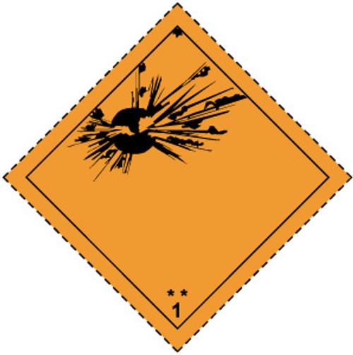 Explosive (Orange and Black)