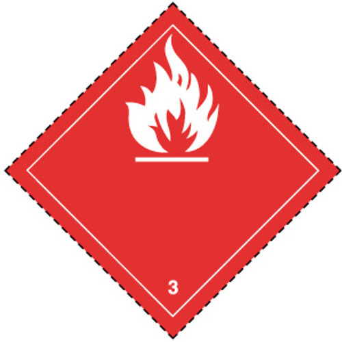 Flammable 3 (Red)