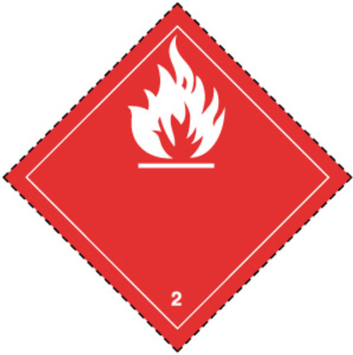 Flammable Gas 2 (Red)