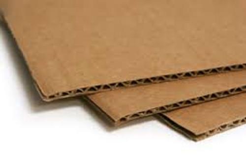 Corrogated Cardboard Sheets 1.5M x 1M.