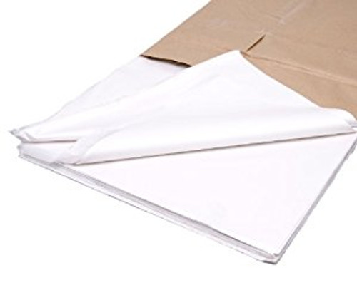 White Acid Free Tissue Paper.