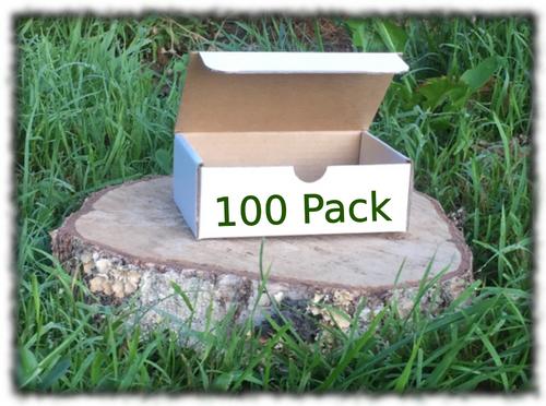Die Cut Rectangle Box - 225x167x83mm 100 Pack