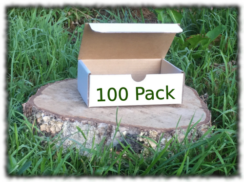 Die Cut Rectangle Box - 100x75x37mm 100 Pack