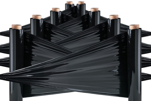 Black Security Pallet Wrap 23mu (6 Rolls)