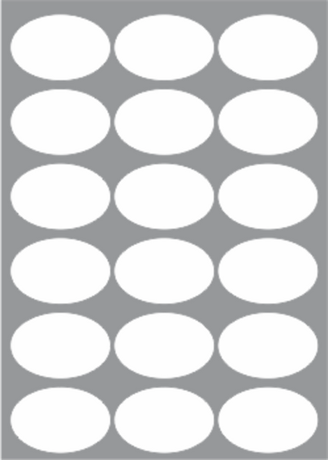 MS18O (65mm x 43mm Oval)