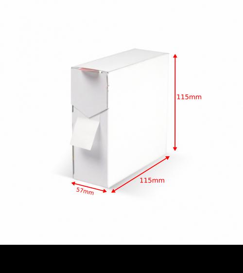 Label Dispenser Carton 115x57x115mm Qty 500