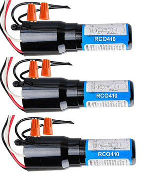 RCO410 Refrigerator Relay Overload Capacitor 3 Pack