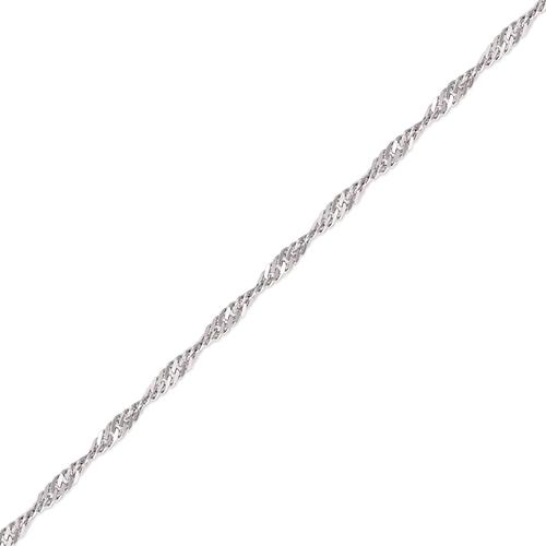 132-551WS Singapore White Chain