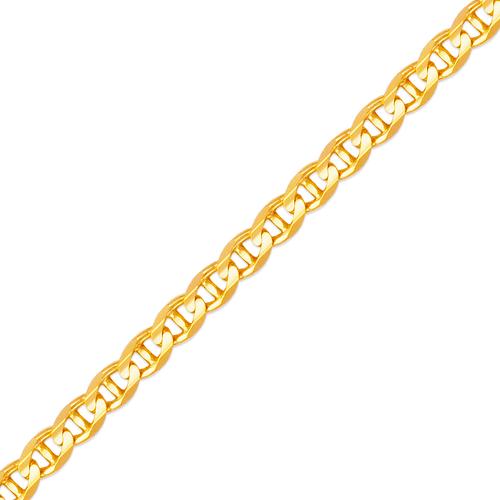 132-401S Gucci Concave Chain
