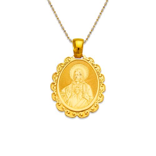 161-052 Jesus Sacred Heart Pendant