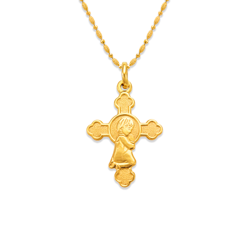 161-055 Communion Boy Cross Pendant