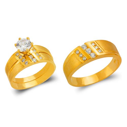 473-604S Wedding Trio Ring Set