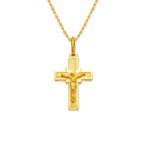 161-089 Jesus Cross Pendant