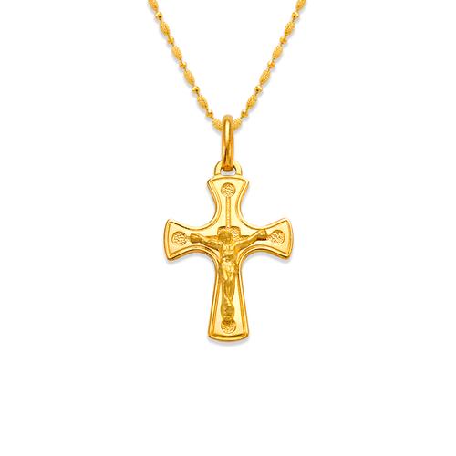 161-091 Jesus Cross Pendant
