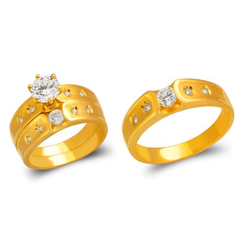 473-607S Wedding Trio Ring Set