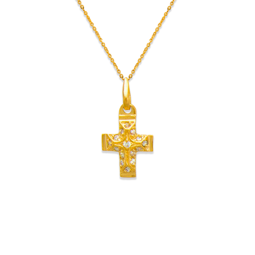 661-023 Cross CZ Pendant