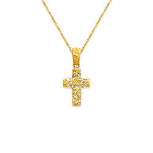 661-116 Cross CZ Pendant