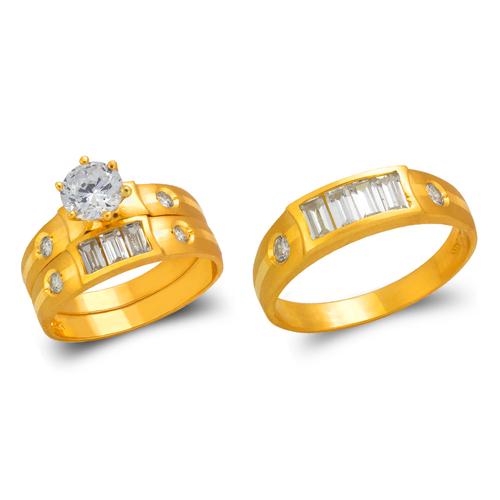 473-649S Wedding Trio Ring Set