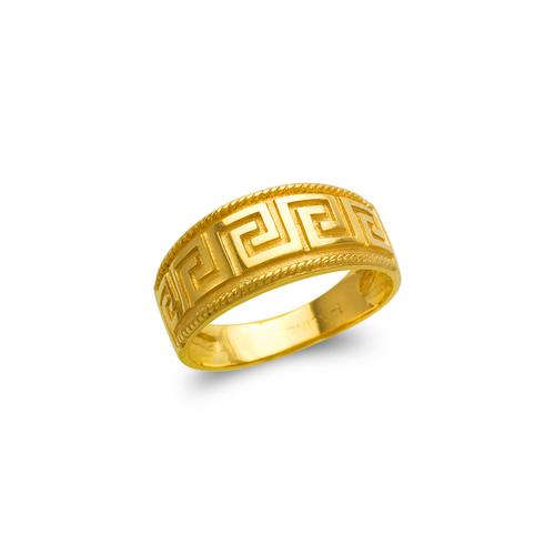 571-024 Ladies Greek Key Filigree Ring