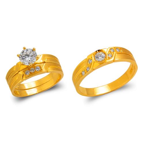 473-664S Wedding Trio Ring Set