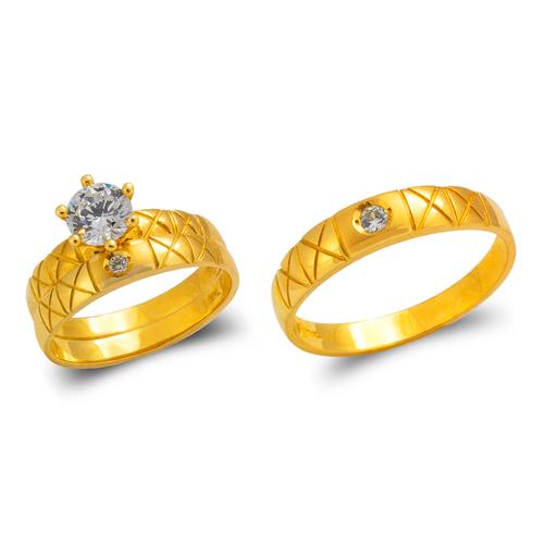 473-670S Wedding Trio Ring Set