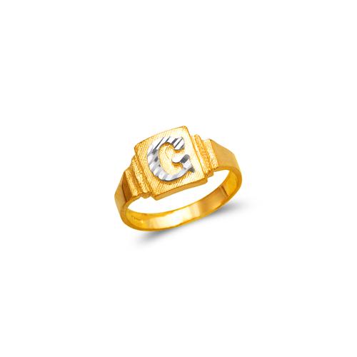572-204 Babies Initial Ring